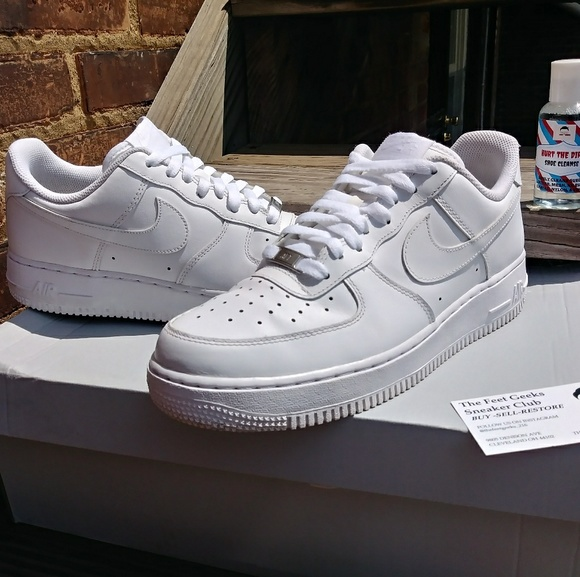 Nike Air Force 1 Low White Men's Shoes Size 8.5